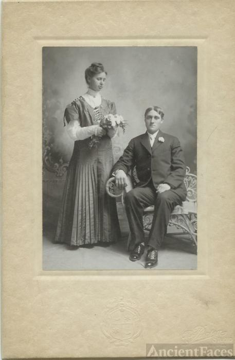 Grover Cleveland and Martha Melton Wedding