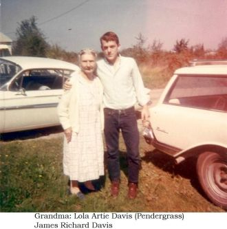 A photo of Lola Artie (Pendergrass) Davis
