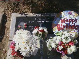 Juan Gonzalez gravesite