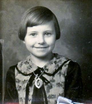 June Ilene Grubbs Reed, 1930's