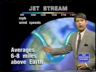Dennis Smith on The Weather Channel (1994)