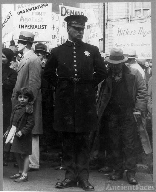 Policeman Rules the Street San Francisco 1936