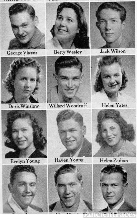 Willard Woodruff, 1942, at Fresno Technical High School