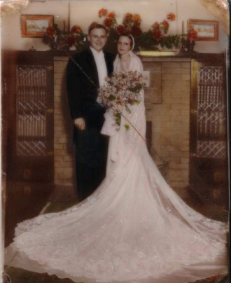John and Carol Dobson Wedding