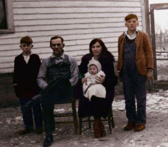 Offa Baughman family