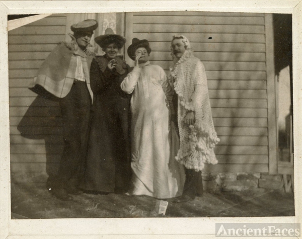 Hacker family, 1902