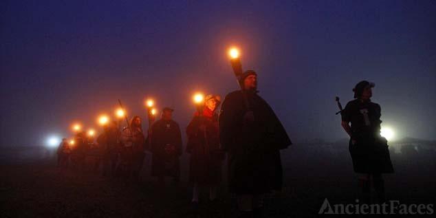 Scottish Fiery Cross