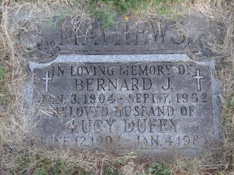 Bernard Mathews Gravesite