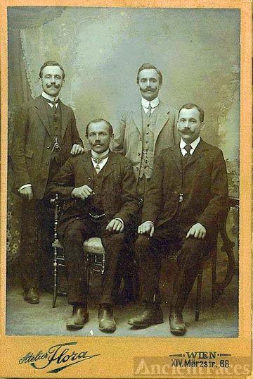 Four Mystery Men