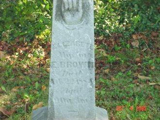 Elizabeth Redding gravestone