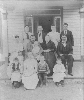 Munro Famil about 1894