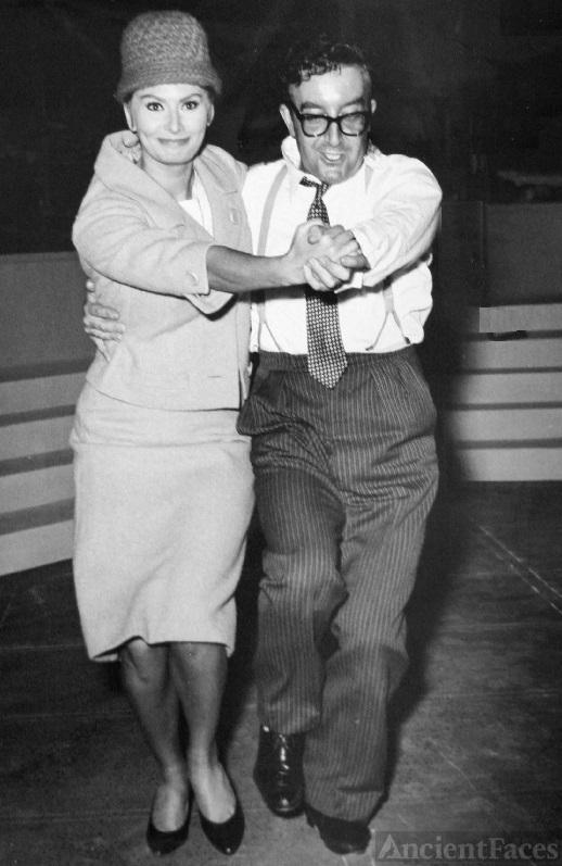 Peter Sellers and Sophia Loren