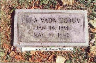 Lula Vada Allen Gravestone - Old Gray Cem.