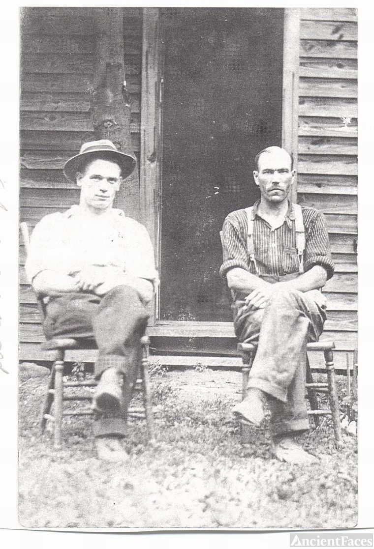Two Men Relaxing