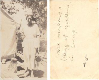 Callie Ballard, 1921