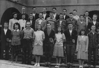 Terry Bowman, San Jose High, 1946