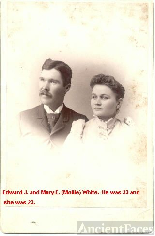 Edward and Mary Elizabeth Moore White