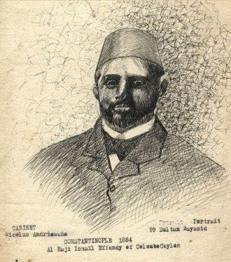 Ismail Effendi, Turkey 1884