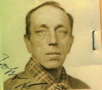 John Koch Certificate of Identification pic.