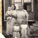 Corabelle & Julie Bago Family, 1950