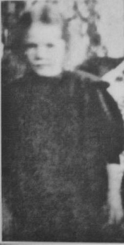 Torborg Danira Palsson, Sweden 1912