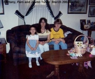 Brittany, Pam and Justin Tuttle, 2002