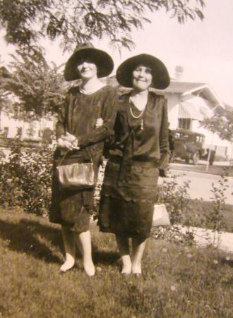 Two 1920's Women