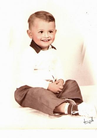 Liam (Joseph) as a child