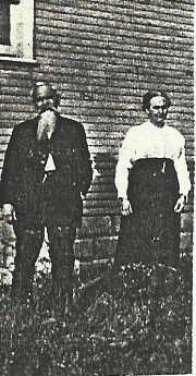 Benton Carl & His Wife, Annie Eliza Bodwell