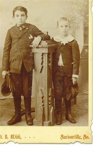 Children of John Henry Burch