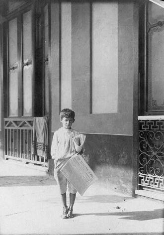 Newsboy, 1917
