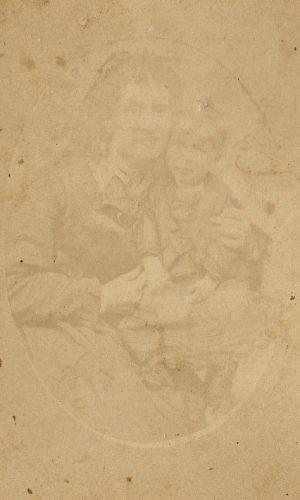 Louisa (Swarthout) & Charles Ferguson, Michigan