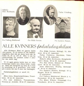 Taline B. Veiteberg biography
