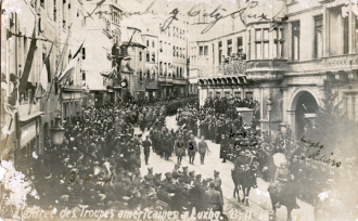 Americans Luxembourg 1918