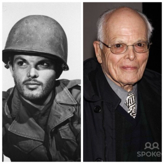 He volunteered for the Army during WWII.