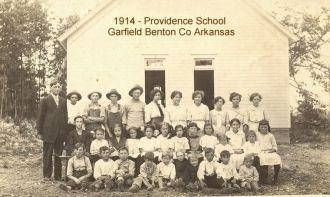 Providence School Garfield Arkansas 1914