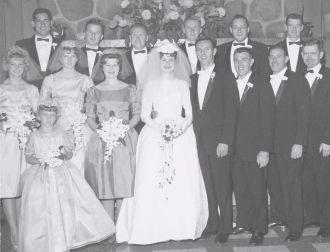 Alvah Nason & Carole Macere wedding