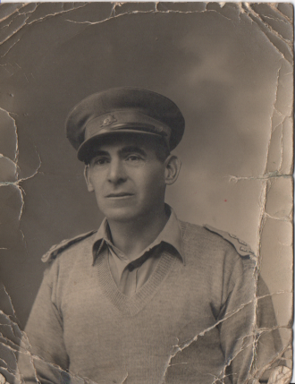 Unknown World War II Australian Lieutenant
