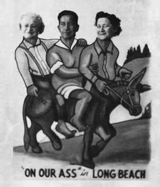 Mary Ann Tasker, Heine & Connie Barrett, Long Beach, CA