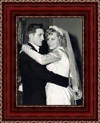 Alfred & Helen FINKS wedding day
