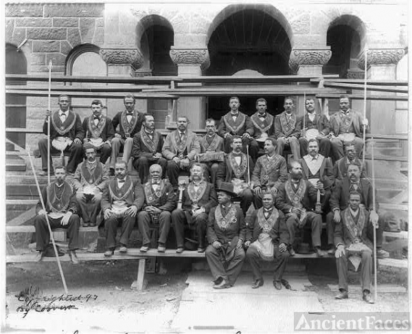 Group of Grand Lodge of Masons. No. 2