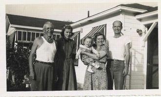 Erma & John Carr Visit Her Half-Brother In Florida