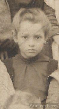 Margaret McAninch, young school girl