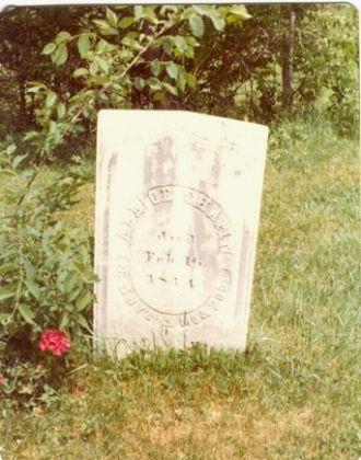Alice Barrett gravestone