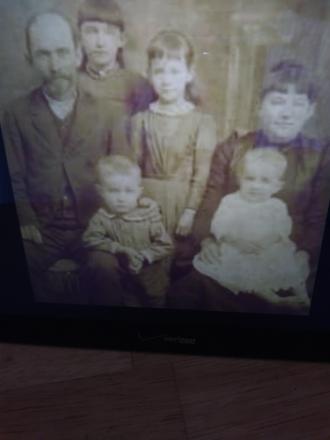 Henry Jackson Burns and Family