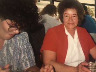 Zerita and Loretta Kay Hansen Burley, 1992