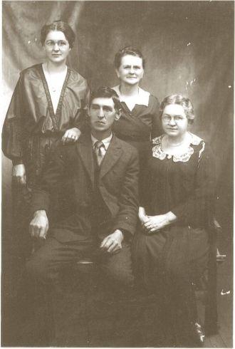John, Martha, Fannie, & Sarah Barker