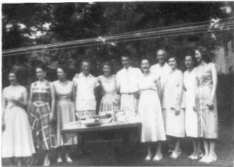 Lee Reunion 1956
