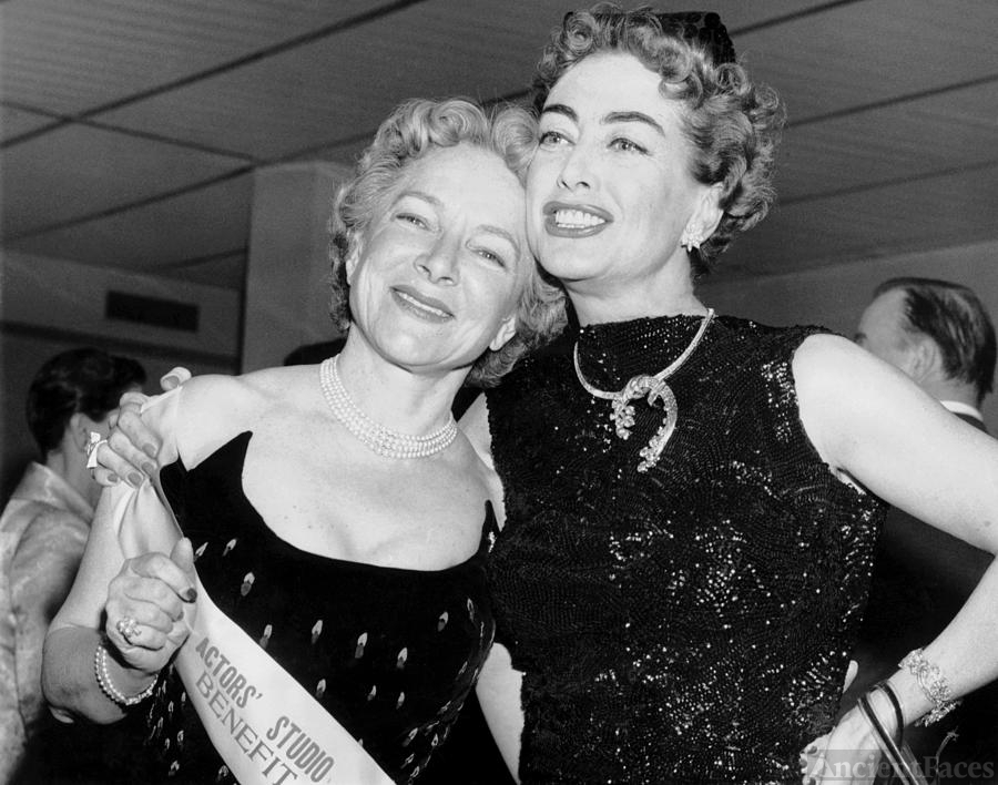 Joan Crawford and Helen Hayes