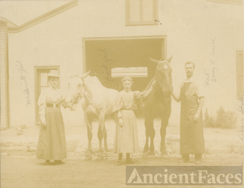 Goshen, NY Livery Stables early 1900s